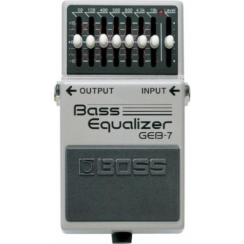 Boss - GEB-7 Bass Equalizer hangszínszabályzó effektpedál basszusgitárhoz