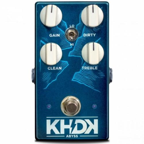 KHDK - Abyss Bass Overdrive torzítópedál basszusgitárhoz, szemből