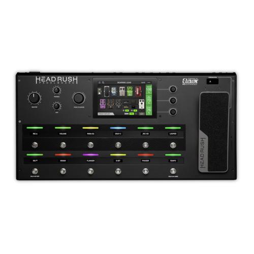 HeadRush - pedalboard gitárerősítő és effekt modellező processzor, szemből