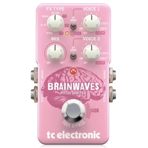 TC Electronic - Brainwaves Pitch Shifter effekt pedál