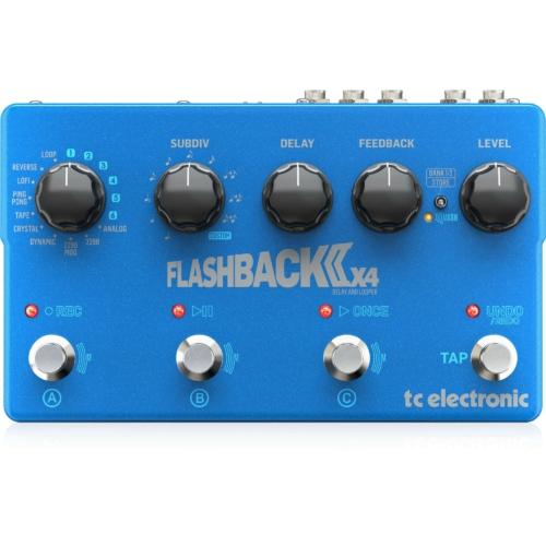 TC Electronic - Flashback 2 X4 Delay/Looper Gitár Pedál