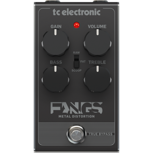 TC Electronic - Fangs Metal Distortion torzítópedál