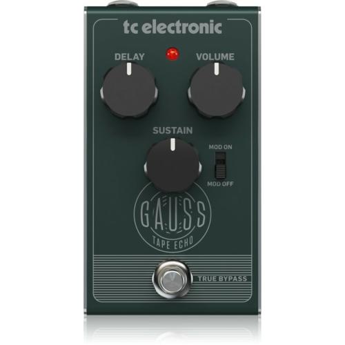 TC Electronic - Gauss Tape Echo delay effektpedál, szemből