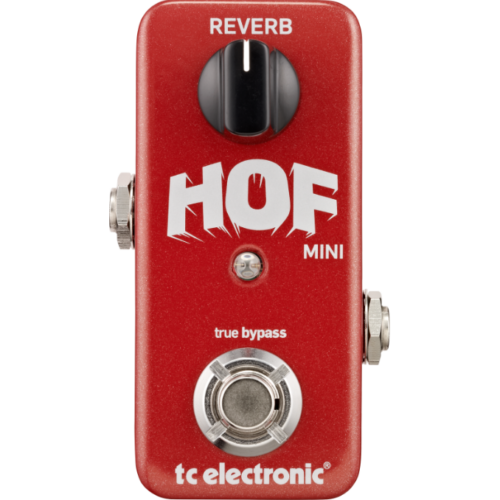 TC Electronic - HOF Mini Reverb zengető pedál