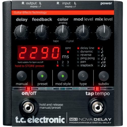 TC Electronic - ND-1 Nova Delay pedál