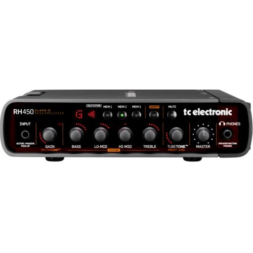 TC Electronic - RH450 Basszuserősítófej 450 Watt