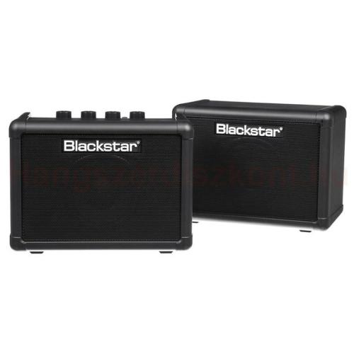 Blackstar - Fly pack BK kisméretű elemes gitárkombó-pár elektromos gitárokhoz 6 Watt