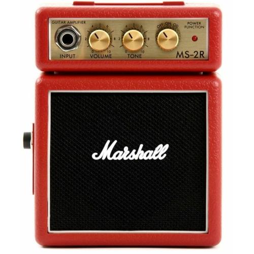 Marshall - MS-2R Micro Stack piros 1 Watt