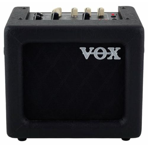 Vox - MINI3GIIBK modellező gitárkombó 3 Watt fekete színben