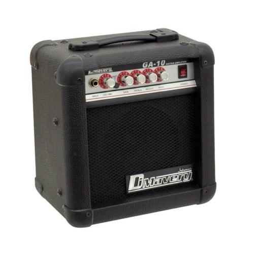 DIMAVERY - GA-10 gitárerősítő kombó 10W