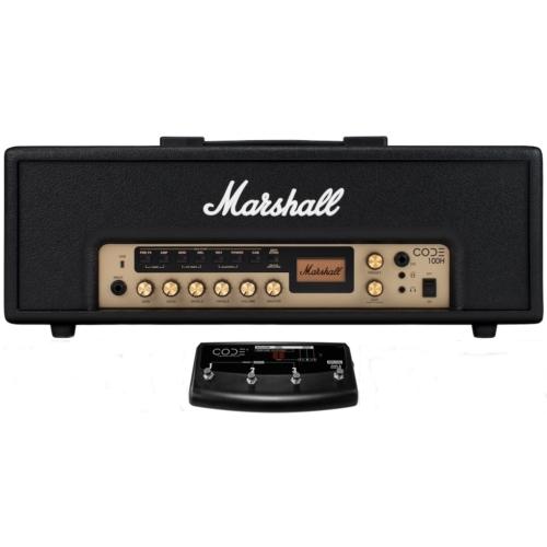 Marshall - CODE100H digitális erősítő fej 100 Watt elölről