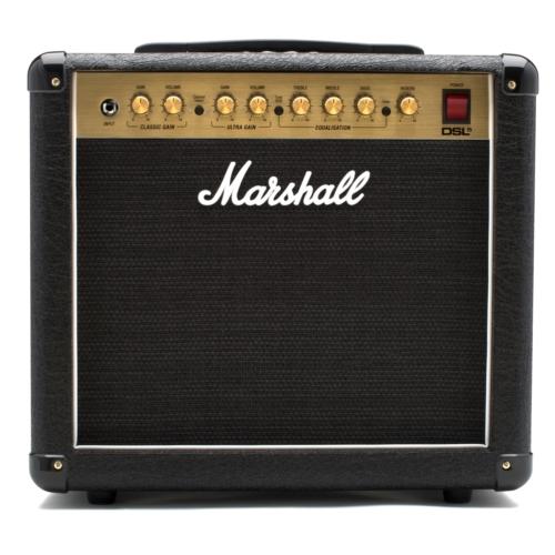 Marshall - DSL5CR csöves gitárerősítő kombó 5 Watt, szemből