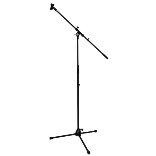 OMNITRONIC - Microphone Tripod with Boom, PRO bk