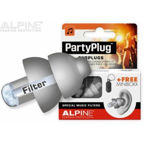 Alpine - PartyPlug füldugó ezüst
