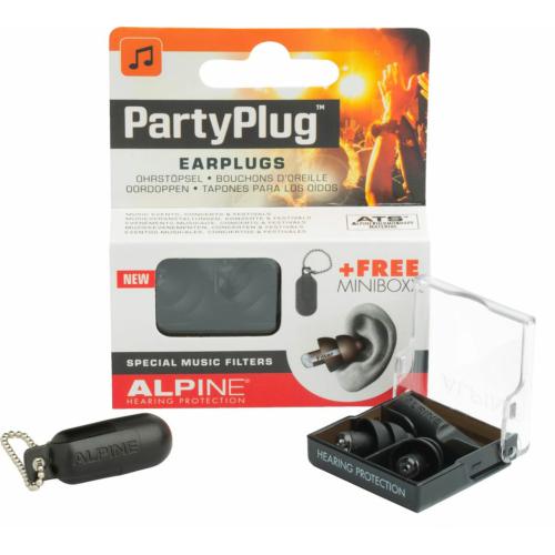 Alpine - PartyPlug füldugó fekete