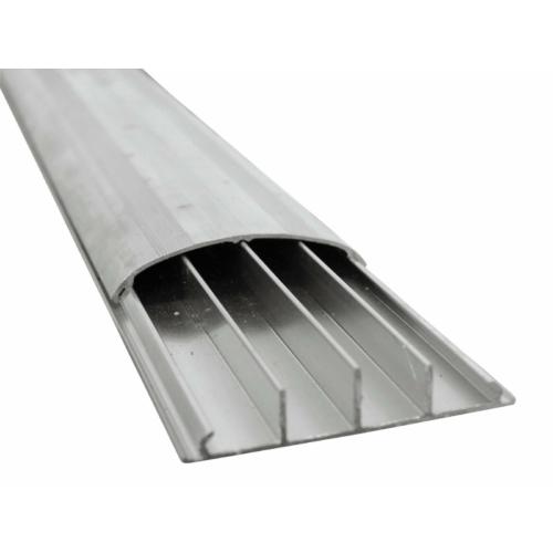 EUROLITE - Floor Cable Channel 75mm silver 4m