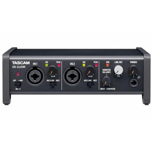 Tascam - US-2x2HR USB audio interfész