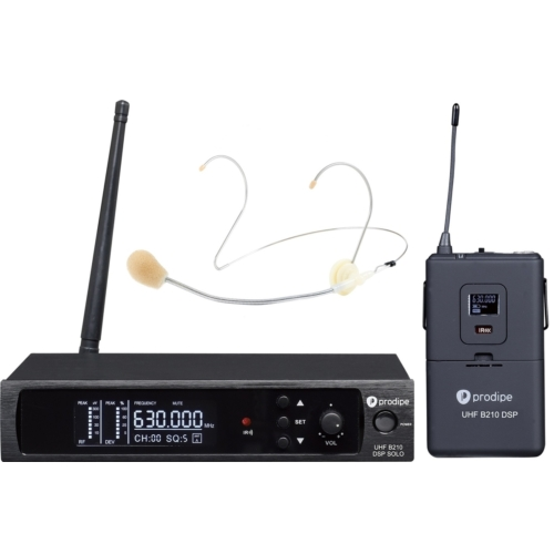 Prodipe - UHF B210 DSP Headset Solo fejmikrofonos szett