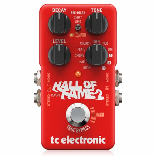 TC Electronic - Hall of Fame 2 Mini Reverb effekt pedál