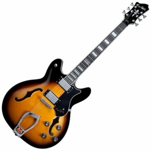 Hagstrom - Viking Tobacco Burst Elektromos jazz gitár