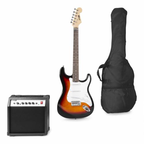 Max - GigKit Elektromos gitár szett sunburst színben