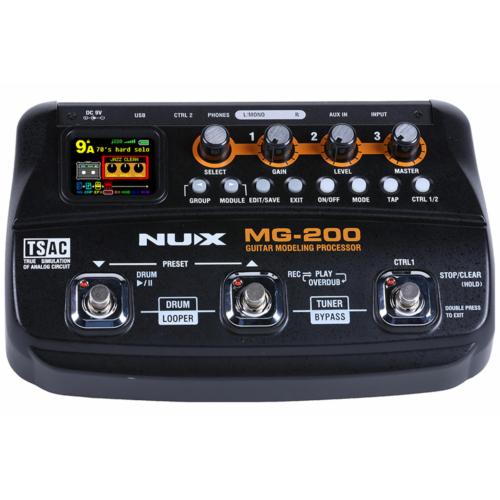 NUX - MG-200 Gitár multieffekt