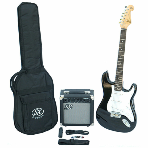 SX - SE1 Electric Guitar Kit 3-Tone Sunburst