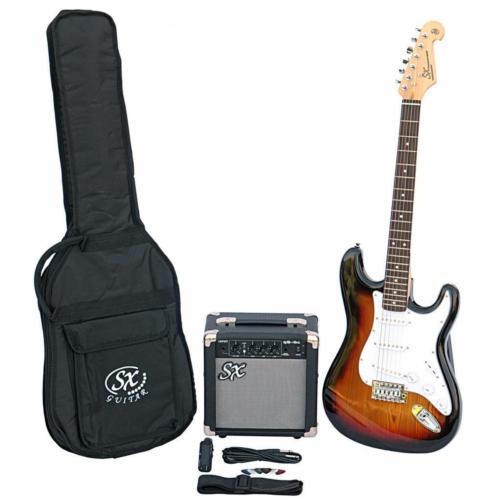 SX - SE1 Electric Guitar Kit 3-Tone Sunburst