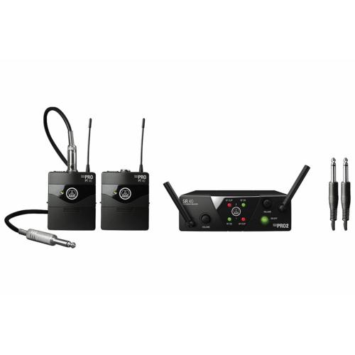 AKG - WMS40 Mini2 Instrumental US25B és D Dual vezeték nélküli hangszeres szett
