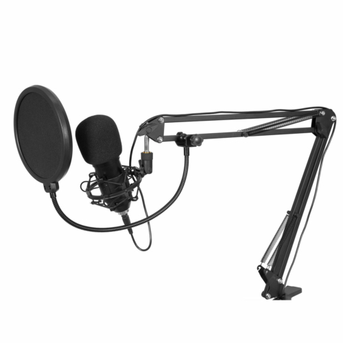 OMNITRONIC - BMS-1C USB Condenser Broadcast Microphone Set