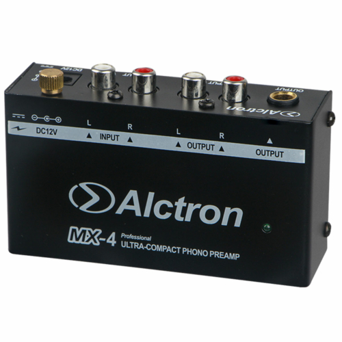 Alctron - MX-4 Lemezjátszó előerősítő