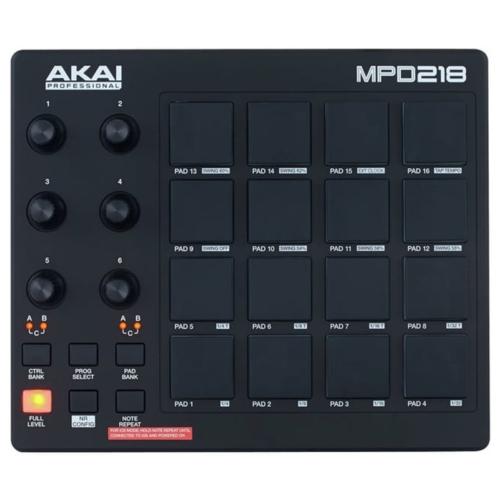 AkaiPro - MPD218 elölről