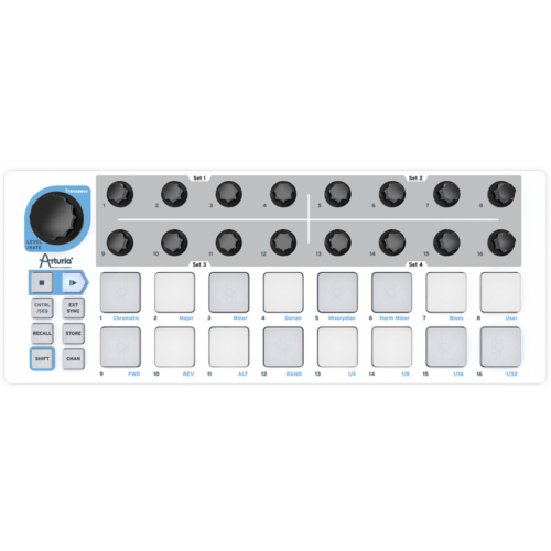 Arturia - BeatStep USB MIDI kontroller/szekvenszer
