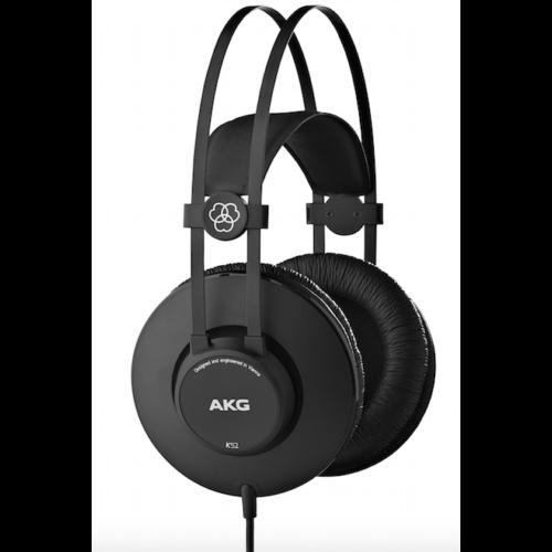 AKG K52 zárt stúdió fejhallgató oldalról