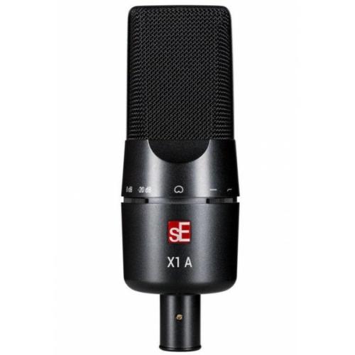sE Electronics - X1 A nagymembrános kondenzátor mikrofon, szemből