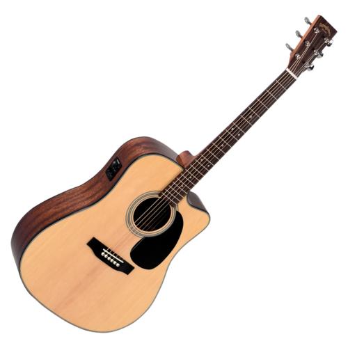 Sigma - SI-DMC-1STE Plus akusztikus gitár elektronikával natúr
