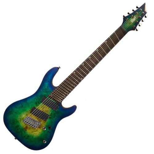 Cort - Co-KX508MS-MBB el.gitár, Multi Scale, kék burst