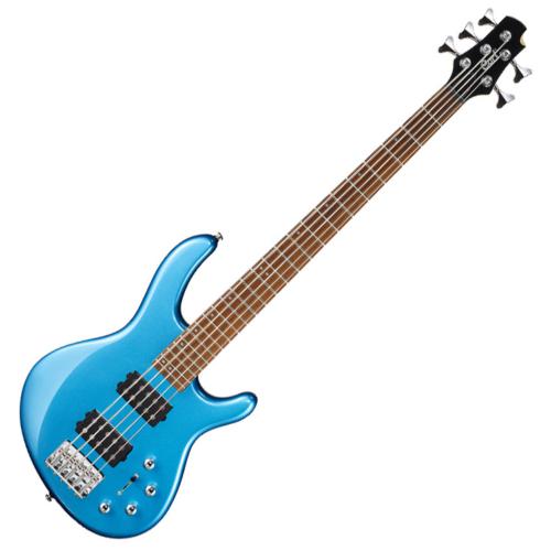 Cort - Co-ActionHH5-TLB 5 húros elektromosn basszusgitár kék