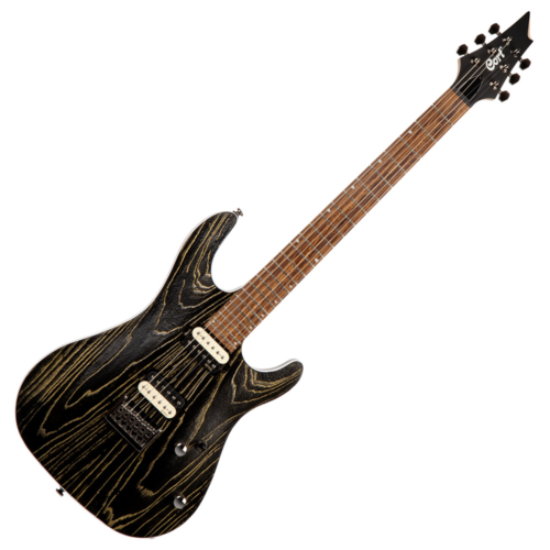 Cort - Co-KX300-Etched-EBG el.gitár, arany-fekete