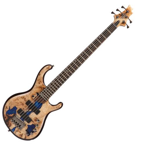 Cort - Co-Persona5-BLRB with bag el.basszusgitár, nyárfa test kék műgyanta betéttel ajándék tok