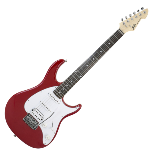 Peavey -  PG-Raptor Plus Red SSS elektromos gitár piros