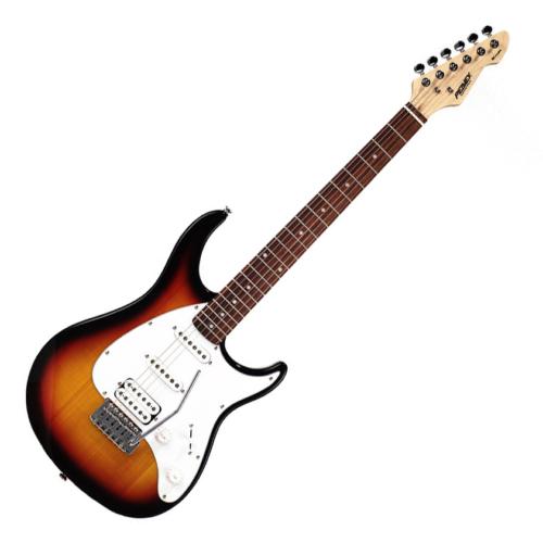 Peavey - PG-Raptor Plus SNB SSS elektromos gitár sunburst