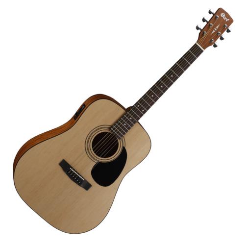 Cort - Co-AD810E-OP akusztikus gitár elektronikával matt natúr
