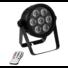 Kép 2/5 - EUROLITE - LED 7C-7 Silent Slim Spot