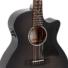 Kép 3/3 - Sigma - GMC-STE-BKB akusztikus gitár elektronikával fekete burst ajándék félkemény tok