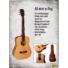 Kép 2/4 - Cort - AD Mini OP - 3/4-es akusztikus gitár puha tokkal matt natúr ajándék hangoló