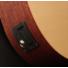Kép 4/6 - Cort - EarthMiniF - 3/4-es akusztikus gitár elektronikával natúr ajándék puhatok