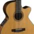 Kép 2/9 - Cort - CEC-7-NAT Klasszikus gitár elektronikával natúr ajándék félkemény tok