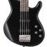 Kép 2/5 - Cort - ActionVPlus-BK 5 húros elektromos basszusgitár fekete ajándék puhatok
