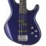 Kép 2/4 - Cort - ActionPlus-BM elektromos basszusgitár metálkék ajándék puhatok